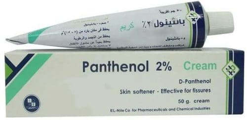 بانثينول 2% كريم بانثينول PANTHENOL 2% LOTION 190MLكريم مرطب وملطف للجلد Panthenol Crea
