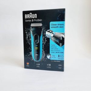 BRAUN SERIES3 3080S WET&DRY SHAVER For man