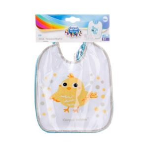 Canpol babies Waterproof Cotton 3 pcs Canpol baby cotton feeding accessories in egypt