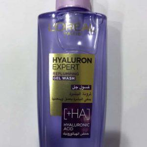 L'OREAL hyaluron expert replumping gel wash