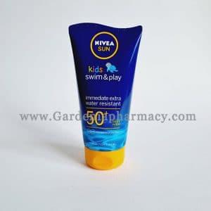NIVEA SUN KIDS SWIM&PLAY LOTION 50+SPF 150ML