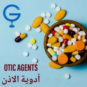 Otic Agents