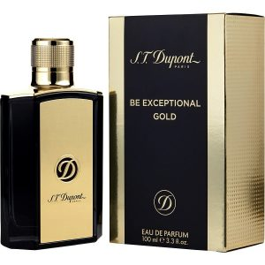 S.T. DUPONT BE EXCEPTIONAL GOLD E D P 100ML