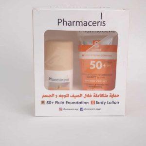 PHARMACERIS fluid foundation + body lotion
