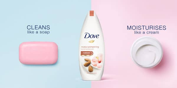 DOVE skin and hair products in egypt