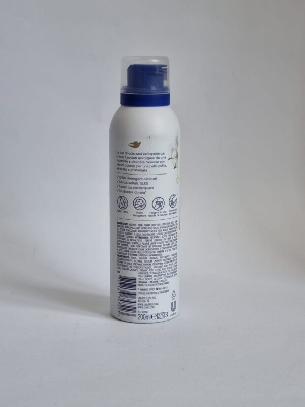 DOVE MOUSE DOCEIA SHOWER&SHAVER 200ML
