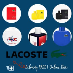 Lacoste perfumes in Egypt