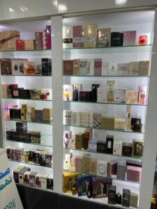 Perfume corners in Gardenia Pharmacy branch at giza Egypt medium