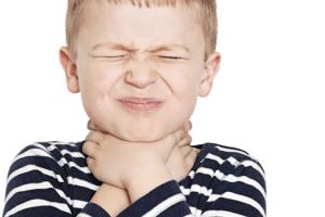 sore throat in children