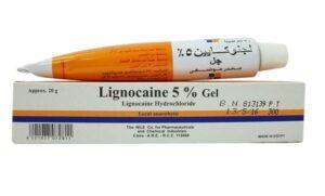 Lignocaine gel