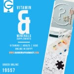 13 Vitamin & Minerals Supplements